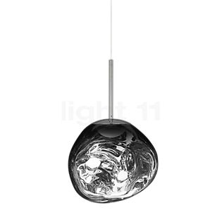 Tom Dixon Melt Pendelleuchte LED Chrom, 28 cm