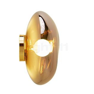 Tom Dixon Melt Plafond-/Wandlamp goud, 50 cm