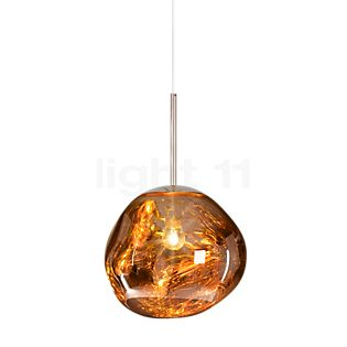 Tom Dixon Melt Suspension doré, 28 cm