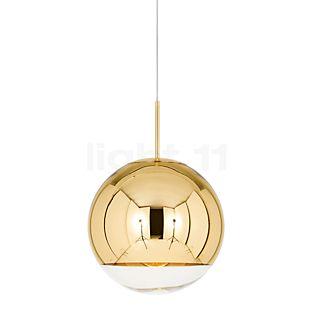 Tom Dixon Mirror Ball Pendant Light gold, ø25 cm