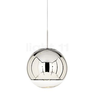 Tom Dixon Mirror Ball Pendelleuchte Chrom, ø25 cm