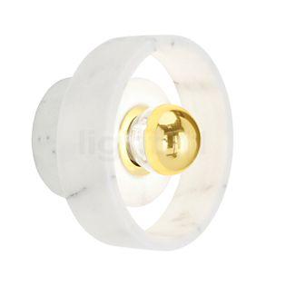 Tom Dixon Stone Væglampe messing/marmor