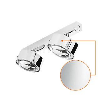Top Light Puk Maxx Choice Move 45 cm Plafond-/Wandlamp chroom glanzend/lens helder