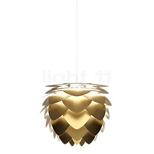 UMAGE Aluvia Brass Pendant Light ø40 x 30 cm, cable white