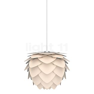 UMAGE Aluvia Suspension anthracite, câble blanc