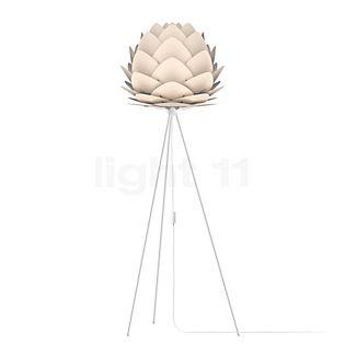 UMAGE Aluvia Tripod, lámpara de pie antracita/blanco