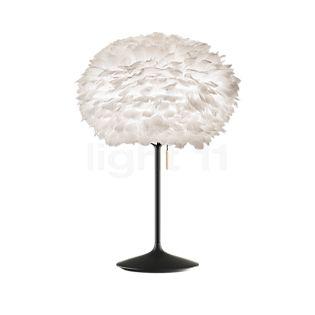 UMAGE Eos Lampe de table, pied Champagne blanc/noir