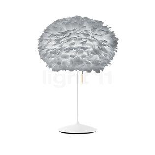 UMAGE Eos Lampe de table, pied Champagne gris/blanc