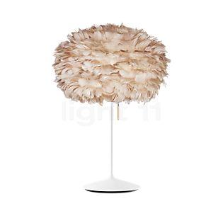 UMAGE Eos Lampe de table, pied Champagne marron/blanc