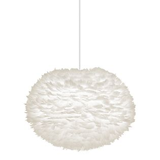 UMAGE Eos XL Pendant Light brown, cable white