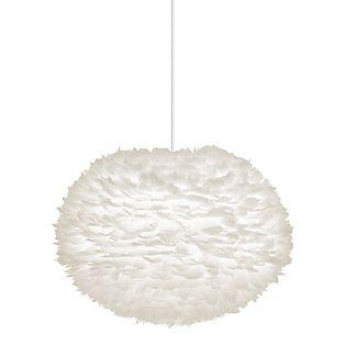 UMAGE Eos XL Pendelleuchte weiß, Kabel weiß