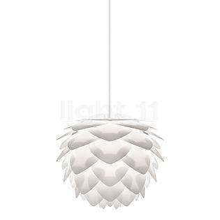 UMAGE Silvia, lámpara de suspensión cobre, cable blanco