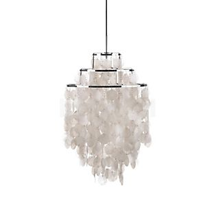 Verpan Fun 1DM Pendant Light pearl white