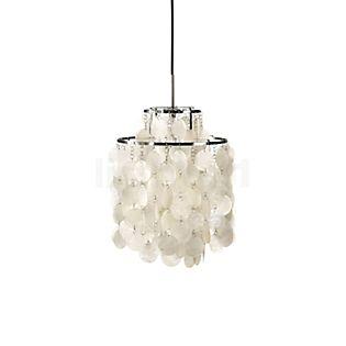 Verpan Fun 2DM, lámpara de suspensión blanco perla