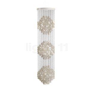 Verpan Fun 3DM Pendant Light pearl white