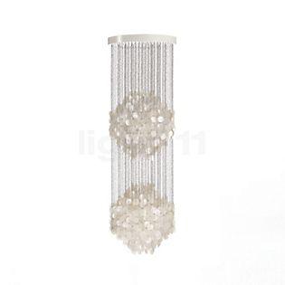 Verpan Fun 5DM Pendant Light pearl white