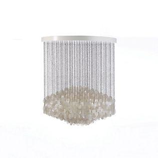 Verpan Fun 7DM Lampada a sospensione bianco perla
