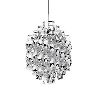Verpan Spiral SP01 Lampada a sospensione argento