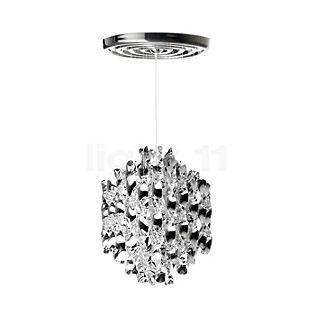Verpan Spiral SP1 Hanglamp zilver