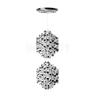 Verpan Spiral SP2 Pendant light silver