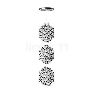 Verpan Spiral SP3 Hanglamp zilver