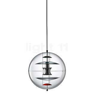 Verpan VP Globe Coloured Glass Pendel transparent