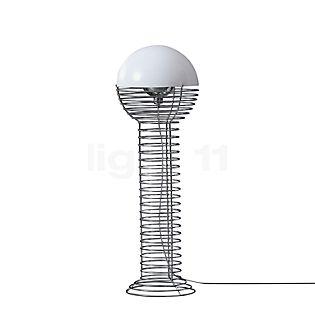 Verpan Wire Floor Lamp white