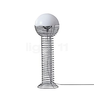 Verpan Wire Gulvlampe hvid