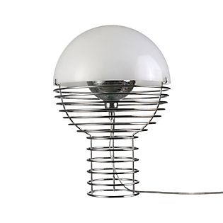 Verpan Wire Table lamp white, ø40 cm