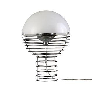 Verpan Wire Tischleuchte weiß, ø40 cm
