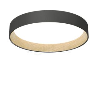Vibia Duo Ceiling Light ring LED graphite grey, ø78,5 cm