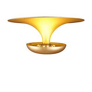 Vibia Funnel Deckenleuchte LED gold, ø35 cm