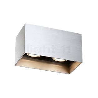 Wever & Ducré Box 2.0 Plafonnier LED aluminium, 2.700 K