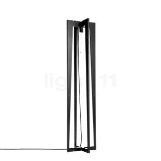 Wever & Ducré Rock Collection 1.0 Naked Floor Lamp black