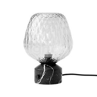 &tradition Blown Lampada da tavolo nero/argento