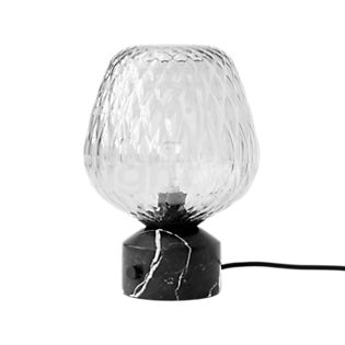 &tradition Blown Table Lamp black/silver