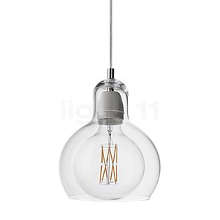 &tradition Mega Bulb SR2 Lampada a sospensione dorato/cavo trasparente