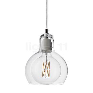 &tradition Mega Bulb SR2, lámpara de suspensión transparente/cable transparente