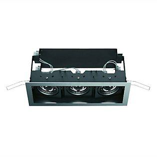 iGuzzini Deep Frame 3 klein 50W grau/schwarz , Auslaufartikel