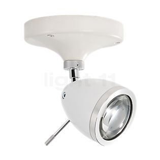 less 'n' more Ylux Y-BDS Wall /Ceiling Light head polished aluminium - ceiling rose concrete white