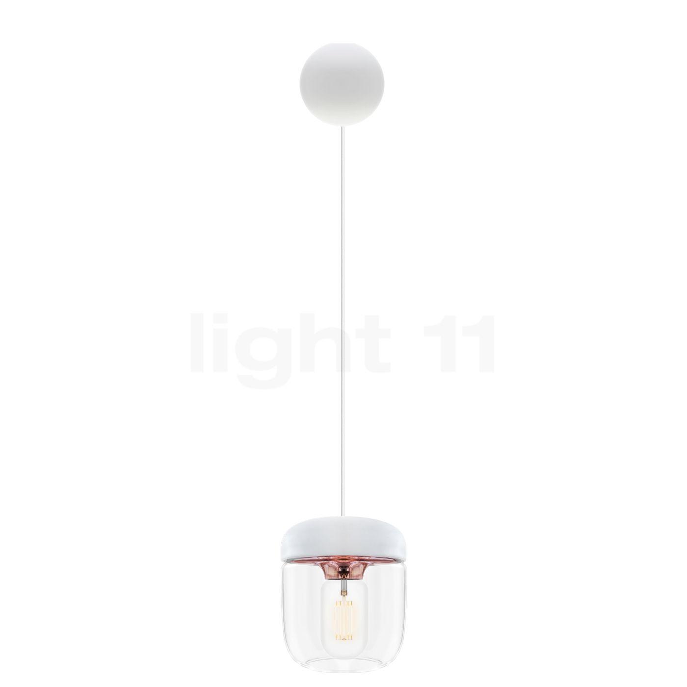 Top UMAGE Acorn Cannonball Pendelleuchte weiß - light11.de TT78