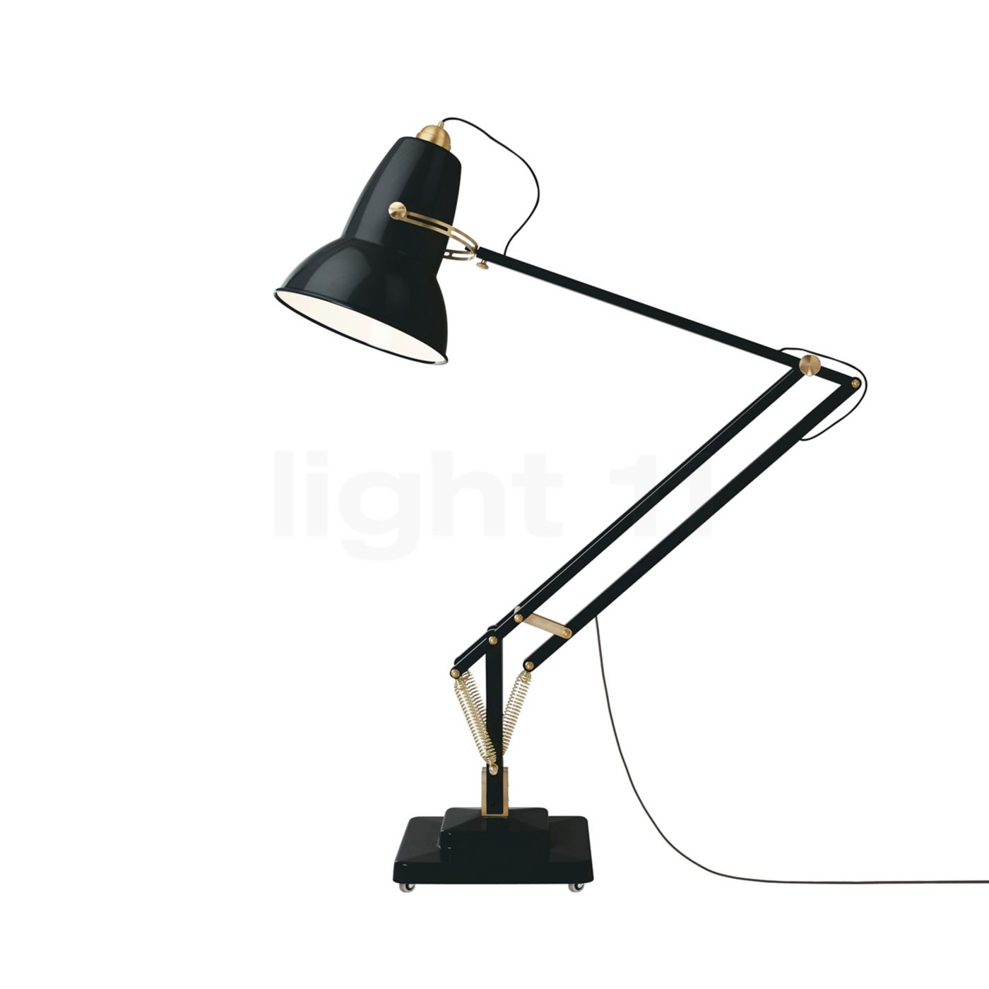 Anglepoise original 1227 giant brass floor lamp floor lamps - Giant anglepoise lamp ...