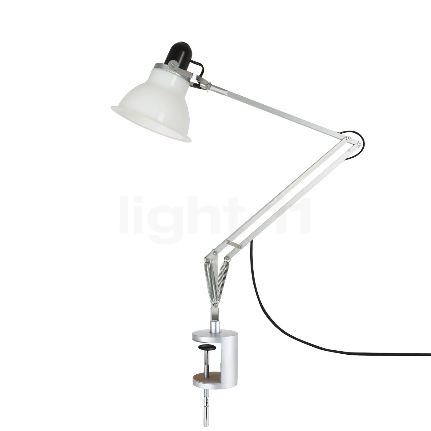 anglepoise type 1228 lampe de bureau avec pince de serrage. Black Bedroom Furniture Sets. Home Design Ideas