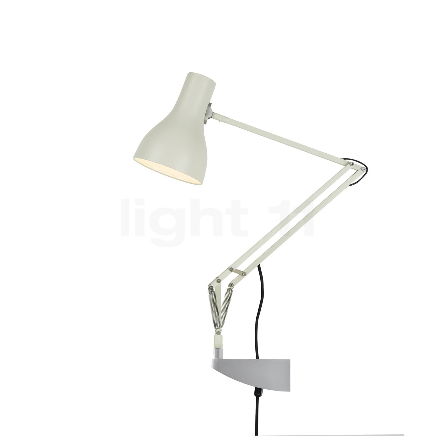 Anglepoise Type 75 Desk Lamp with Wall Bracket at light11.eu
