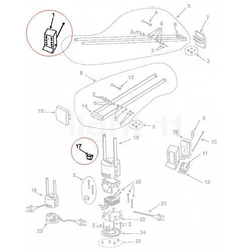 Artemide Spare parts for Tizio 35  white buy at light11 eu. Artemide Lighting Spare Parts. Home Design Ideas