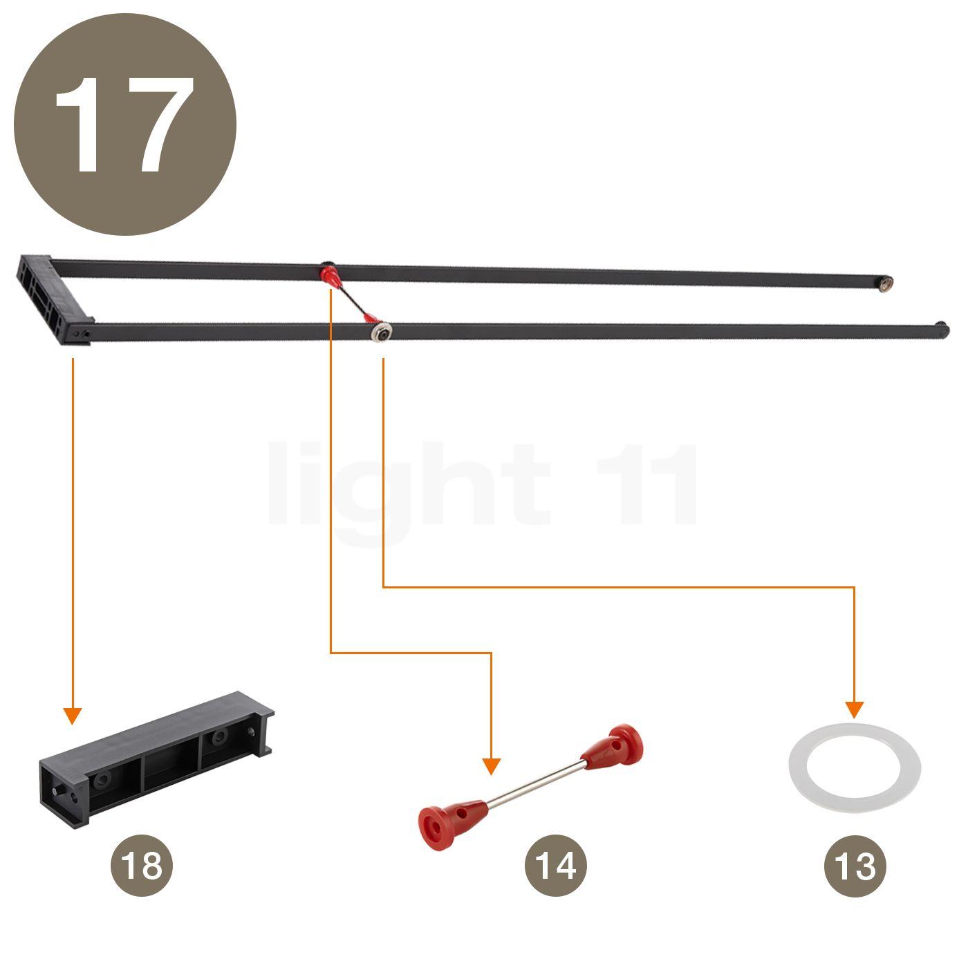 Artemide Spare parts for Tizio 50  black buy at light11 eu. Artemide Lighting Spare Parts. Home Design Ideas