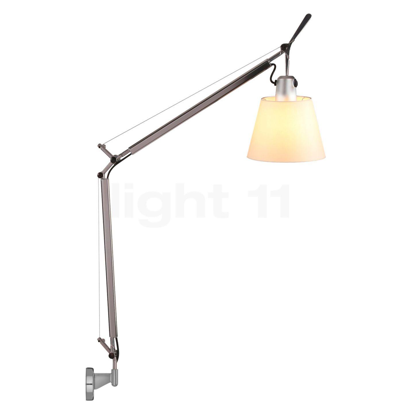artemide tolomeo basculante parete lampada da lettura. Black Bedroom Furniture Sets. Home Design Ideas