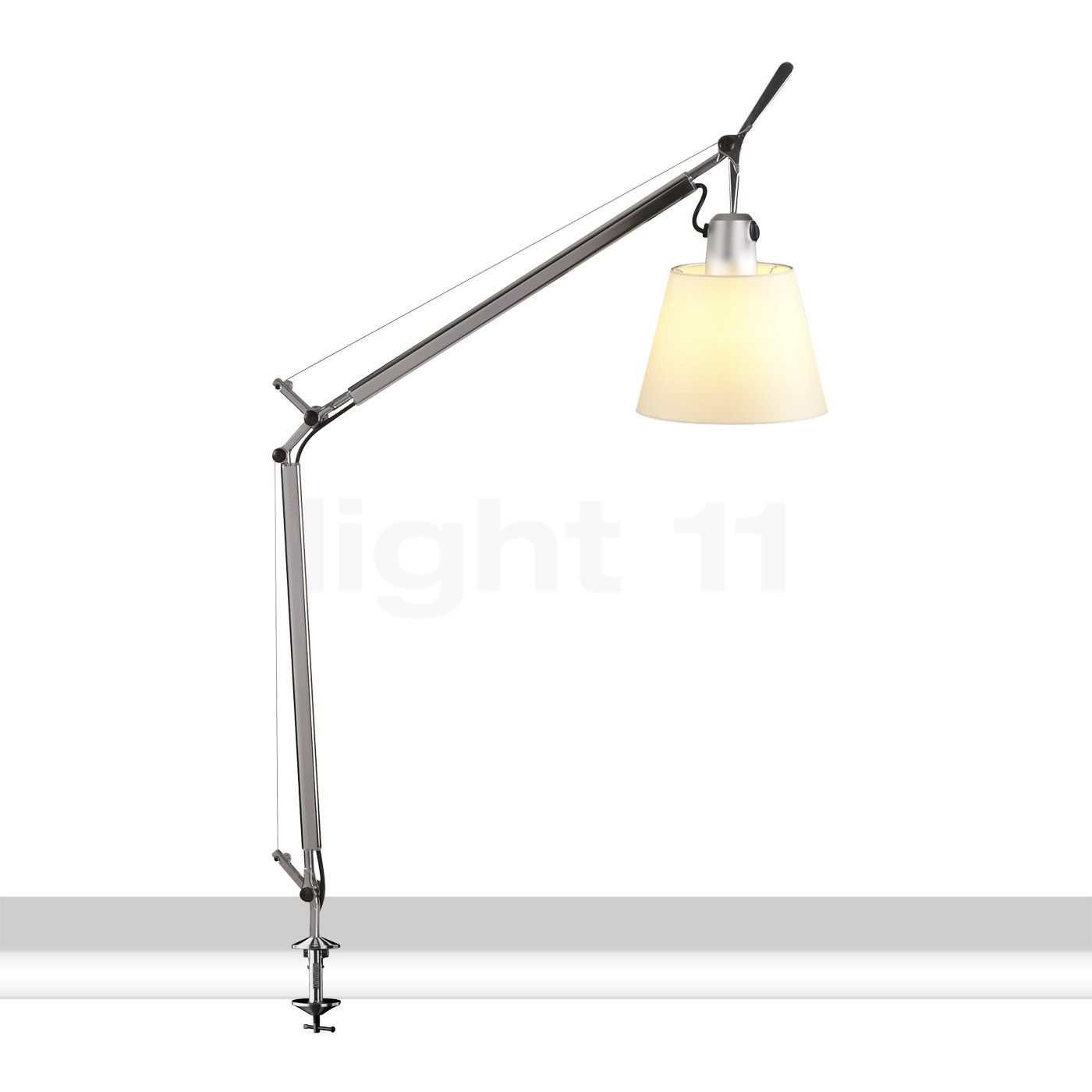 artemide tolomeo basculante tavolo avec pince de serrage lampe de bureau. Black Bedroom Furniture Sets. Home Design Ideas