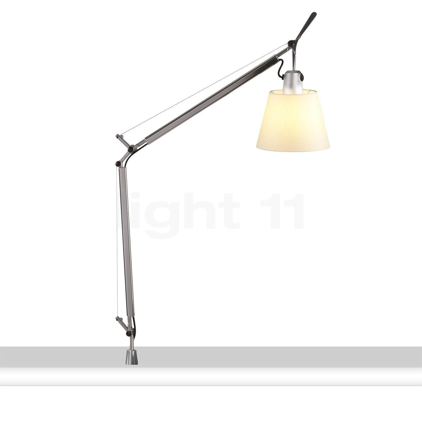 artemide tolomeo basculante tavolo mit schraubbefestigung schreibtischleuchte. Black Bedroom Furniture Sets. Home Design Ideas