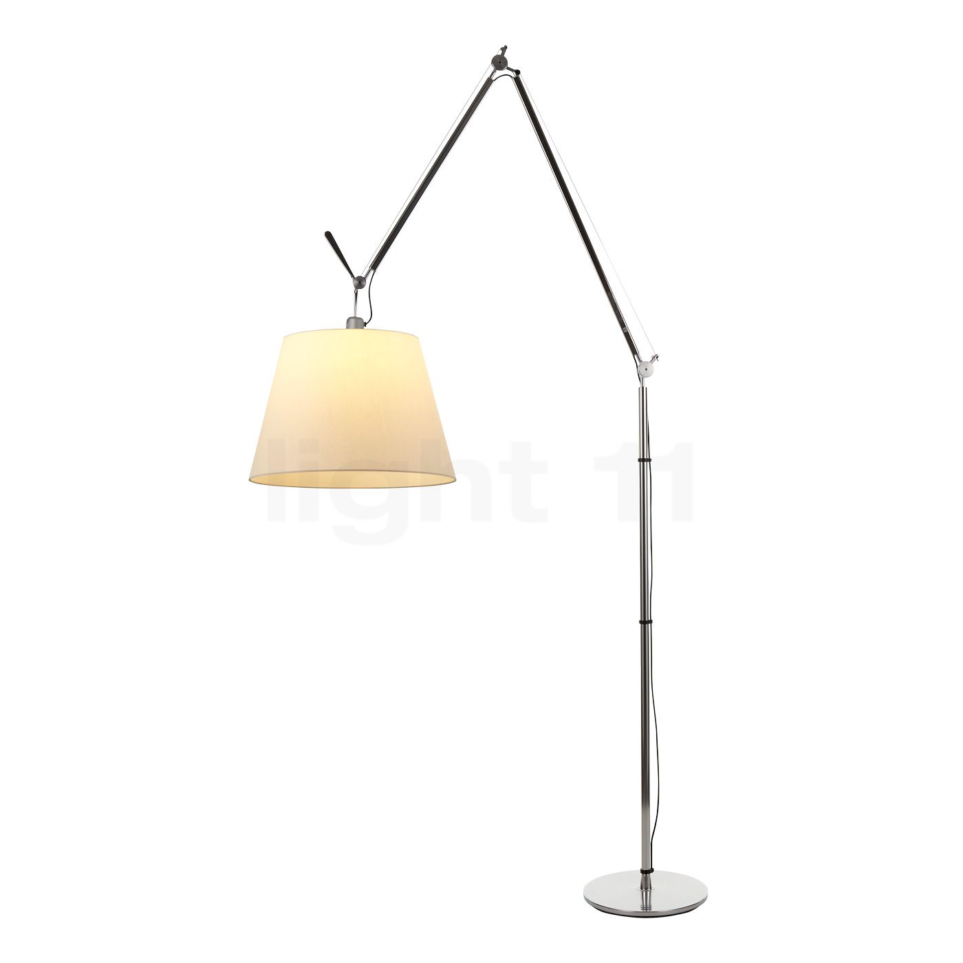 artemide tolomeo mega terra with dimmer dining table lamps -